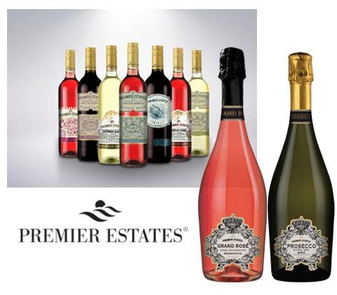 Win x 5 x 3 cases of Premier Estates Wine sweepstakes