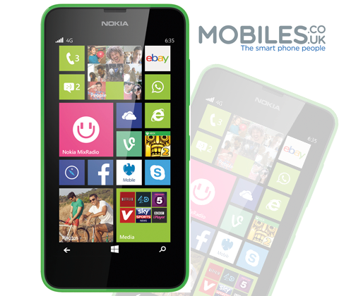 Nokia Lumia 635 sweepstakes