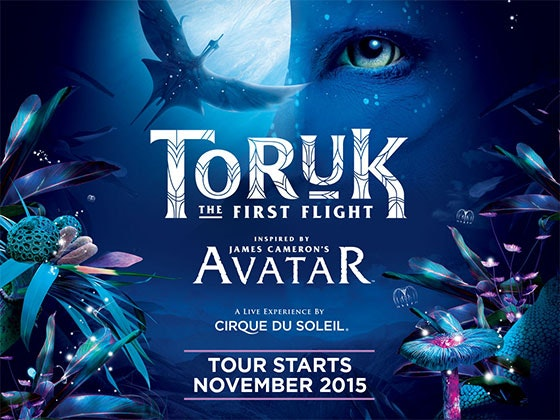 Trip to See Cirque du Soleil TORUK sweepstakes