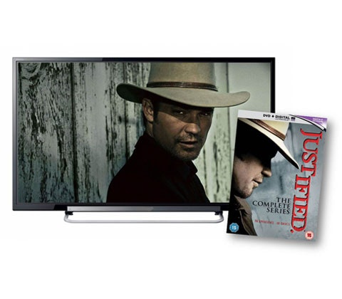 Justified DVD Box set sweepstakes