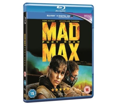 WIN MAD MAX: FURY ROAD on BLU-RAY™ sweepstakes