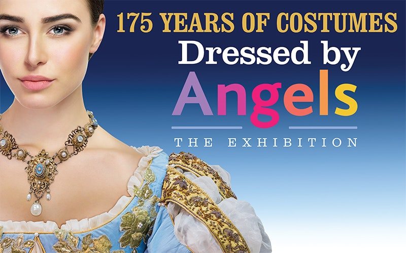 DRESSED BY ANGELS EXHIBITION sweepstakes
