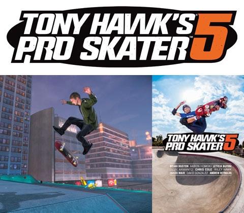 Tony Hawk's Pro Skater 5 sweepstakes