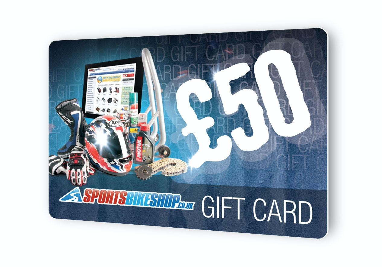 Win a £50 Gift Voucher for Sportsbikeshop sweepstakes