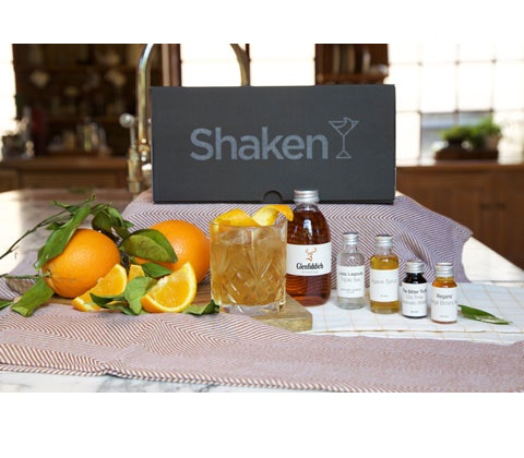Win 2 x Cocktail ingredients from Shaken sweepstakes