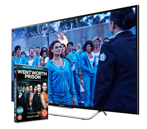 Win Sony TV & Wentworth Prison Season Three DVD sweepstakes