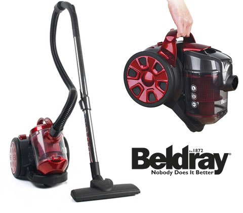 Win 6 x Beldray Compact Vac Lites sweepstakes