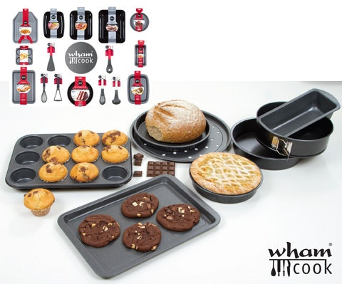 Win 4 x selection of Wham Cook bakeware sweepstakes