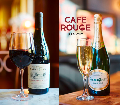 Case of Café Rouge Wines sweepstakes