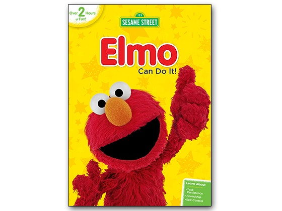 Elmo can do it dvd giveaway