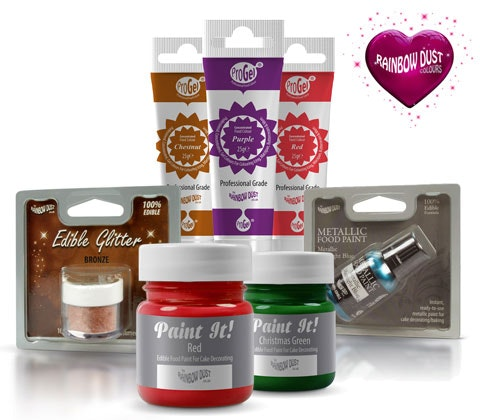 Win 5 x Rainbow Dust Colours sets sweepstakes
