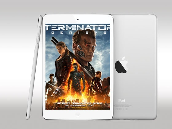 iPad mini and Terminator Genisys Digital HD sweepstakes