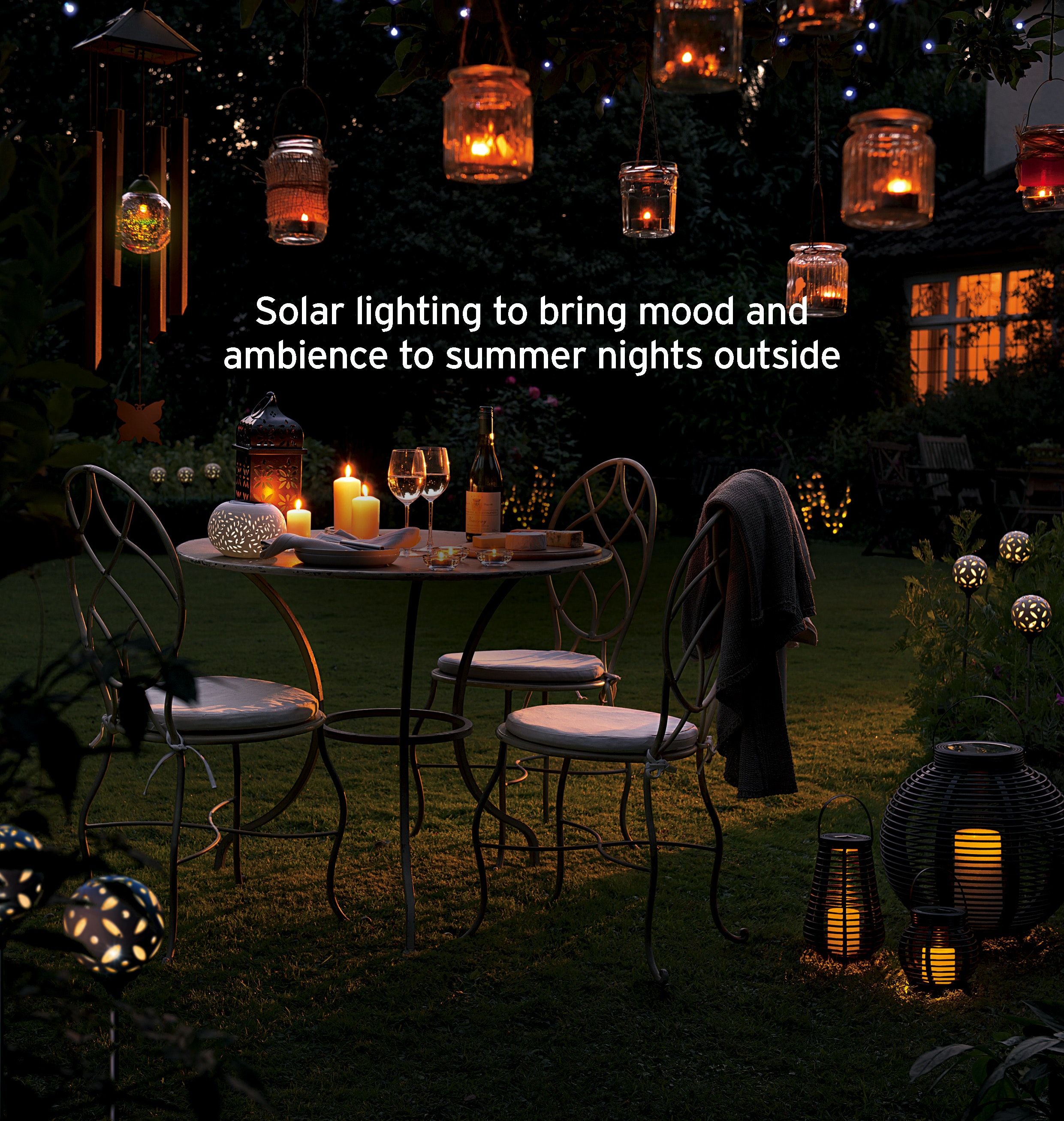 Cole & Bright soolar lighting collection sweepstakes