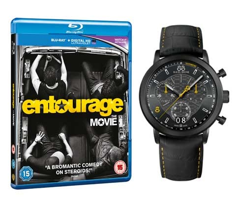 88 Rue Du Rhones limited edition Entourage watch sweepstakes