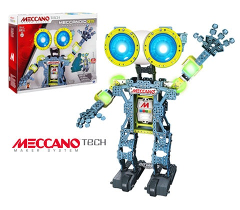 Meccano Meccanoid Robot sweepstakes