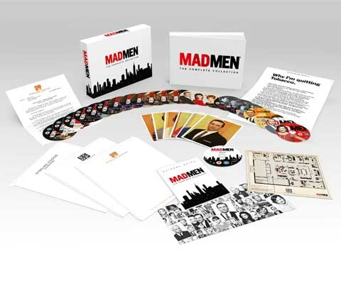 Mad Men - Deluxe Collector's Edition Blu-ray  sweepstakes