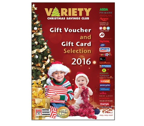 Win £500 of gift vouchers with Variety Christmas Savings Club sweepstakes