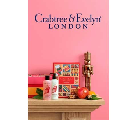 Win a luxury Christmas prize, filled with Crabtree & Evelyn goodies, worth £75 sweepstakes