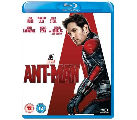 Ant-Man on Blu-ray sweepstakes