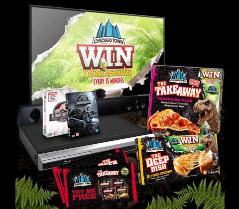 Jurassic collection sweepstakes