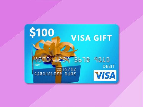 Visa gift card giveaway dark tide