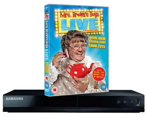 Win 4 x Mrs. Brown's Boys box sets & DVD player sweepstakes