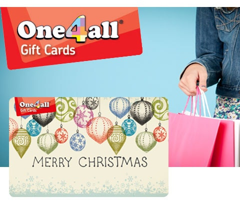 Win 5 x £100 multi-store gift cards from One4all sweepstakes