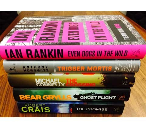 WIN THE BIGGEST CRIME THRILLERS OF 2015!   sweepstakes