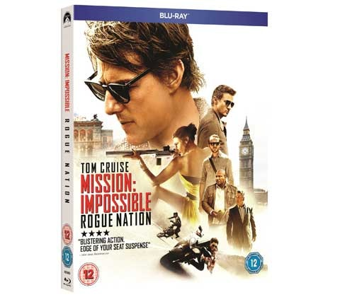 WIN MISSION: IMPOSSIBLE – ROGUE NATION ON BLU-RAY™! sweepstakes