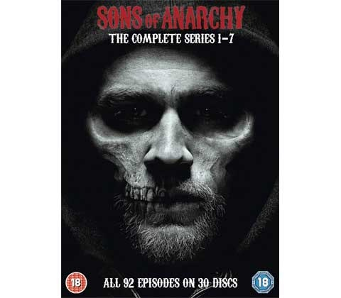 Sons of Anarchy The Complete Series 1-7 DVD sweepstakes