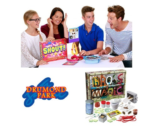 Shout! and Gross Magic Games sweepstakes