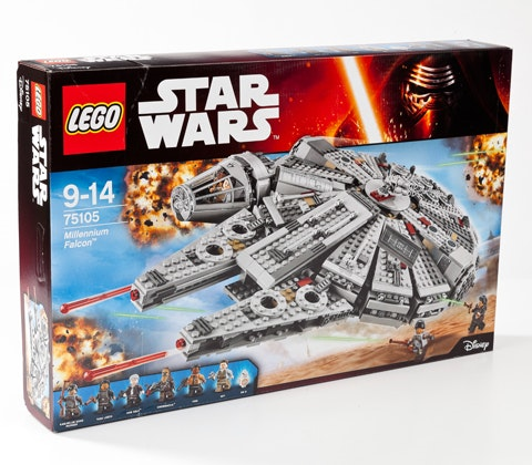 LEGO Star Wars Force Awakens Millennium Falcon  sweepstakes