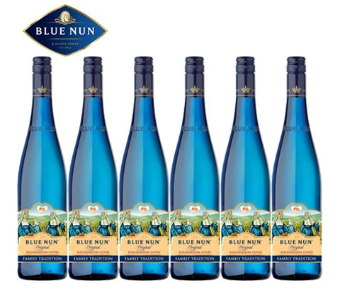 Win 6 x cases of Blue Nun Original Family Tradition wine sweepstakes