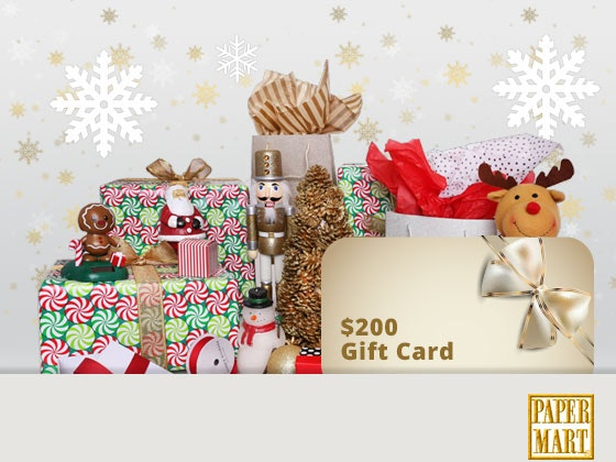 Paper Mart gift card sweepstakes