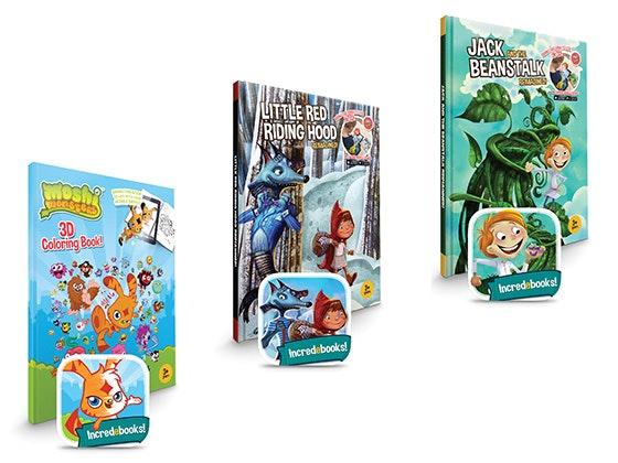 Disney incredebooks set sweepstakes