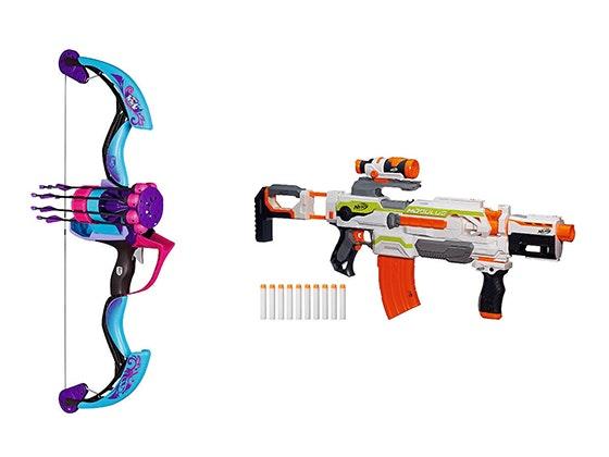 Nerf modulus blaster and rebelle arrow revolution bow sweepstakes