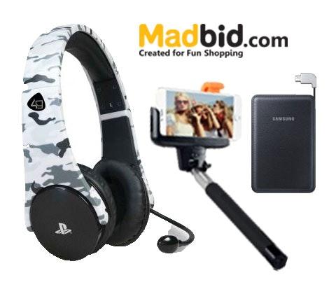 Technology Bundle courtsey of MadBid sweepstakes