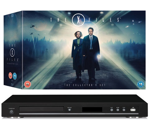 Win 2 x The X-Files: The Collector's Set plus Blu-ray player sweepstakes