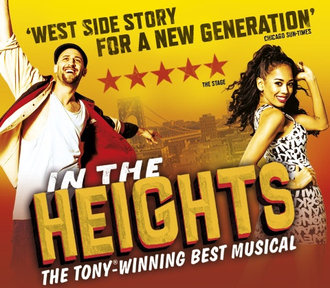 a pair of tickets to see In The Heights  sweepstakes