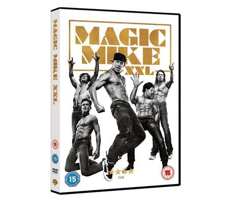 Magic Mike XXL DVD sweepstakes
