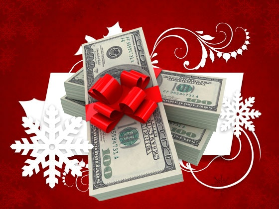 $1000 Cash- December  sweepstakes