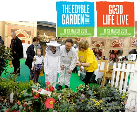 Win 10 x tickets to The Edible Garden Show & Good Life Live sweepstakes