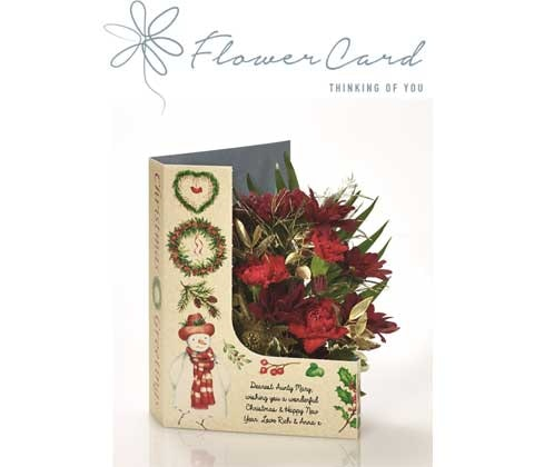 win a unique Flowercard - Frosty's Flowers sweepstakes