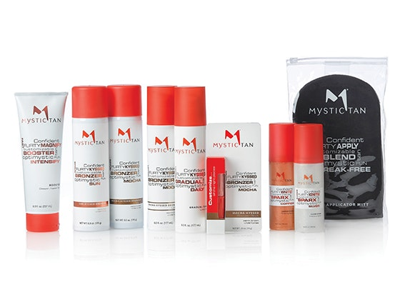 Mystic tan prize package giveaway