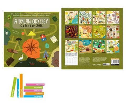 Dylan Thomas Calendars sweepstakes