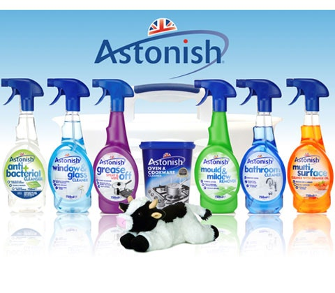 Win 5 x Astonish cleaning caddies sweepstakes