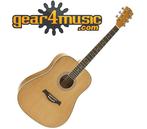 Dreadnought Acoustic Guitar by Gear4music sweepstakes