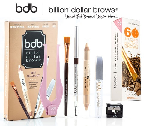 Win 5 x Billion Dollar Brows Hero product sets sweepstakes