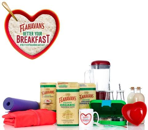 Flahavan's Treats to Better Your Breakfast  sweepstakes