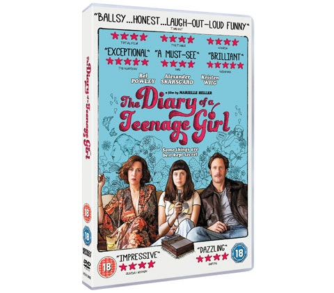 WIN THE DIARY OF A TEENAGE GIRL – ON DVD JANUARY 11 sweepstakes